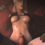 【3Dエロアニメ】ダクソ3の火防女が騎乗位で下から突き上げられる!!戦士や怪物の逞しいモノを自ら求め咥える