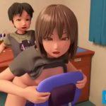 【3Dエロアニメ】お部屋でおねショタエッチ!お姉ちゃんのぐちょマンで筆下ろししちゃう